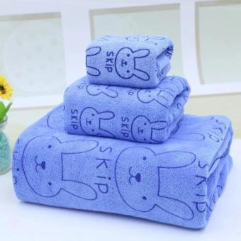 Bộ 3 khăn tắm - khăn mặt - khăn lau (Xanh) - 8504481 , OE680HLAA3STDXVNAMZ-6790812 , 224_OE680HLAA3STDXVNAMZ-6790812 , 176000 , Bo-3-khan-tam-khan-mat-khan-lau-Xanh-224_OE680HLAA3STDXVNAMZ-6790812 , lazada.vn , Bộ 3 khăn tắm - khăn mặt - khăn lau (Xanh)