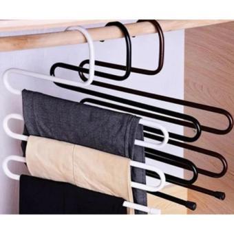 Bộ 3 móc treo quần áo đa năng 5 tầng