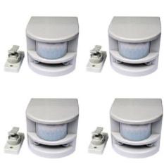 Bộ 4 cảm ứng chống trộm hồng ngoại MDtek HT1A (xám)