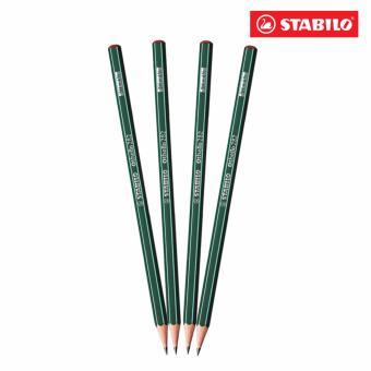 Bộ 4 cây bút chì gỗ STABILO Othello PC282-3H-C4