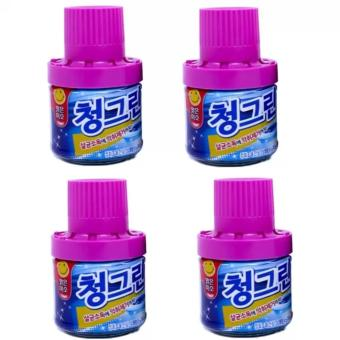 Bộ 4 chai thả bồn cầu khử mùi diệt khuẩn Hàn Quốc SM532