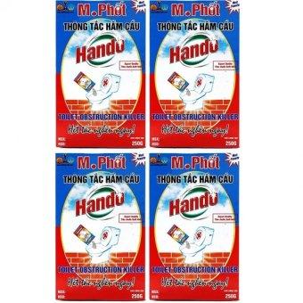 Bộ 4 Hộp bột thông tắc hầm cầu bể phốt 250g Hando (Đỏ) - 8726139 , SE290HLAA1QMXIVNAMZ-2910920 , 224_SE290HLAA1QMXIVNAMZ-2910920 , 300000 , Bo-4-Hop-bot-thong-tac-ham-cau-be-phot-250g-Hando-Do-224_SE290HLAA1QMXIVNAMZ-2910920 , lazada.vn , Bộ 4 Hộp bột thông tắc hầm cầu bể phốt 250g Hando (Đỏ)