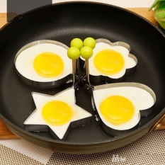 Bộ 4 khuôn chiên bánh, chiên trứng tạo hình độc đáo
