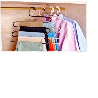 Bộ 4 móc treo quần và khăn 5 tầng