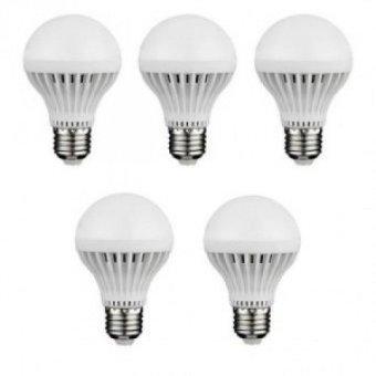 Bộ 5 đèn led búp 9w (Trắng)