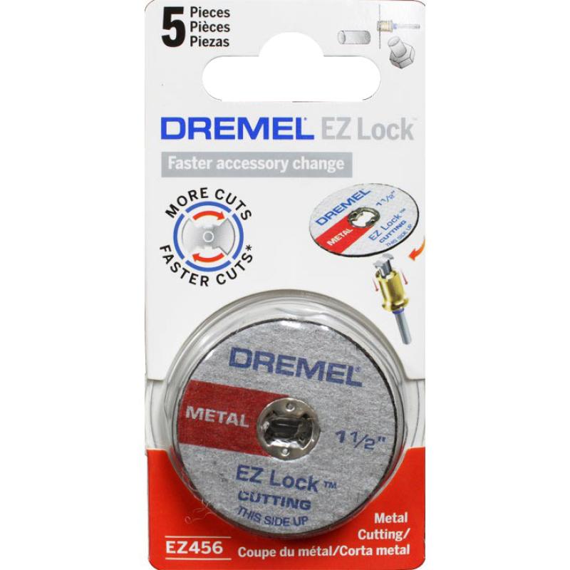 Bộ 5 đĩa cắt kim loại 38 mm EZ Lock Dremel EZ456
