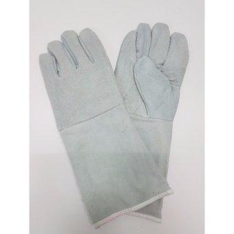 Bộ 5 Đôi Găng tay da thợ hàn 2 lớp
