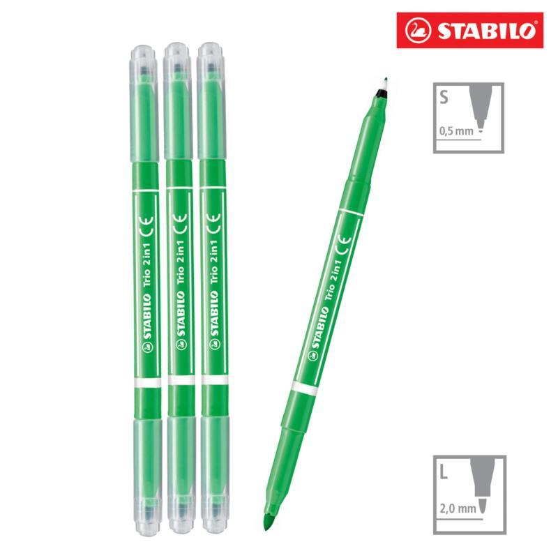 Mua Bộ 50 cây bút lông STABILO Trio 2 in 1 (màu cam)