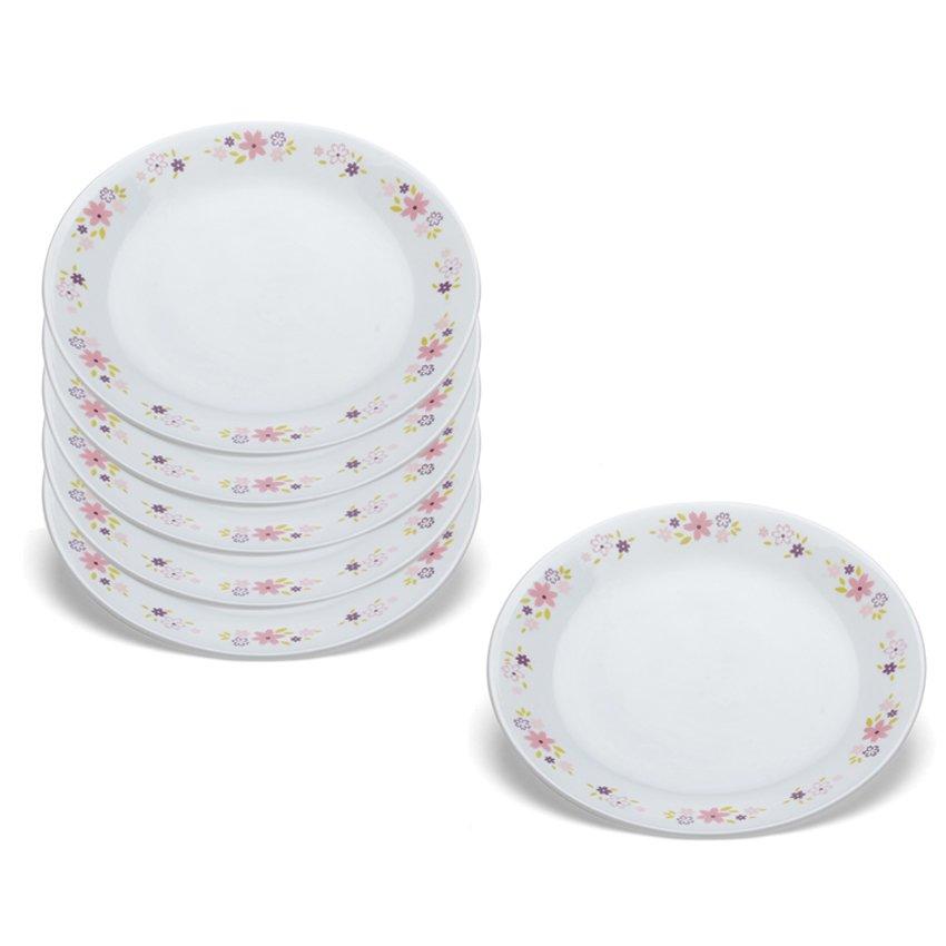 Bộ 6 đĩa thủy tinh Corelle 1096498 21.6cm