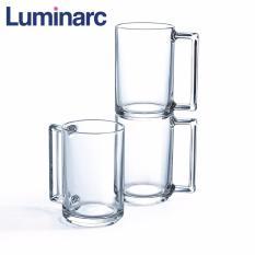 Bộ 6 ly bia thủy tinh Luminarc Fitness 450ml L8042 (Trong suốt)