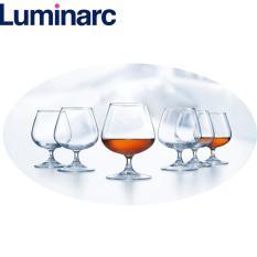 Bộ 6 ly rượu thủy tinh Luminarc Cognac 250ml G2629 (Trong suốt)
