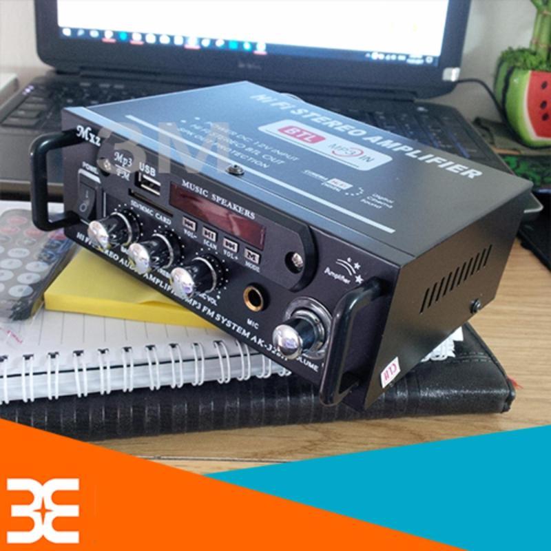 Bảng giá Bộ Amply Khuếch đại âm thanh Mini tại gia 180W+180W có Hifi, có hát karaoke, có điều khiển