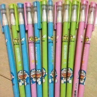 Bộ bút bi 12 chiếc tẩy xóa được sau khi viết hiệu Doraemon(Doremon) ngộ nghĩnh