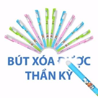 Bộ bút bi 12 chiếc tẩy xóa được sau khi viết (Phát màu ngẫu nhiên)