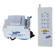 Bộ công tắc điều khiển từ xa sóng RF lắp mặt PANASONIC TPE RC1P + Remote 16 nút RM01