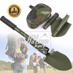 Bộ cuốc, xẻng, rìu chiến đấu quân đội cao cấp HOAHAI.COM (xanh lính)