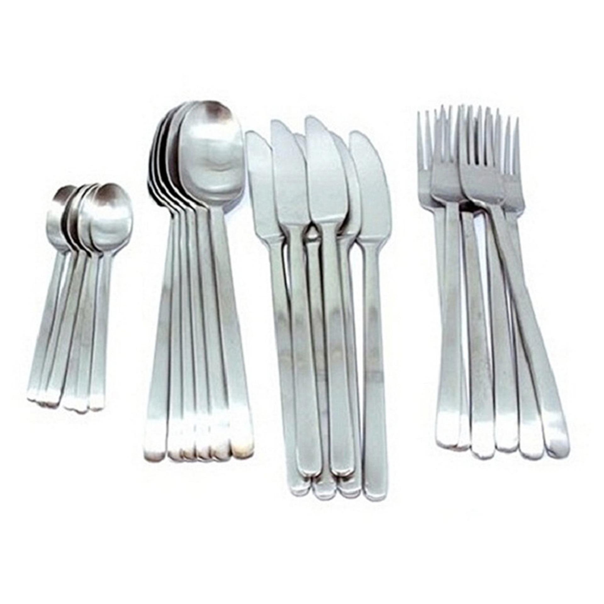 Bộ dao muỗng nĩa IKEA IK008204 Thép không gỉ
