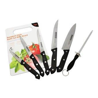 Bộ dao thớt 7 món Messer