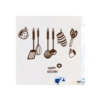 Bộ decal dán bếp Hàn Quốc-Căn bếp hạnh phúc