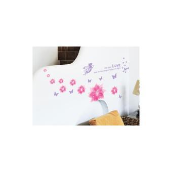 Bộ decal dán tường Hàn Quốc - Sắc hoa thần tiên