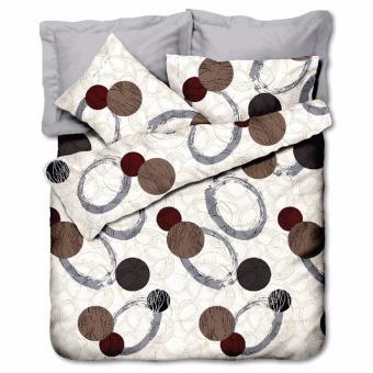Bộ drap Circle Art Windsir 160 x 200 cm