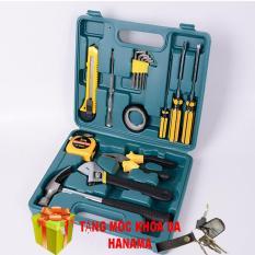 Bộ dụng cụ cơ khí sửa chữa cầm tay 16 chi tiết ( tặng móc khóa )