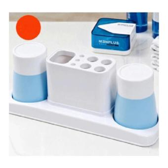 Bộ dụng cụ đựng bàn chải và kem đánh răng(XB)