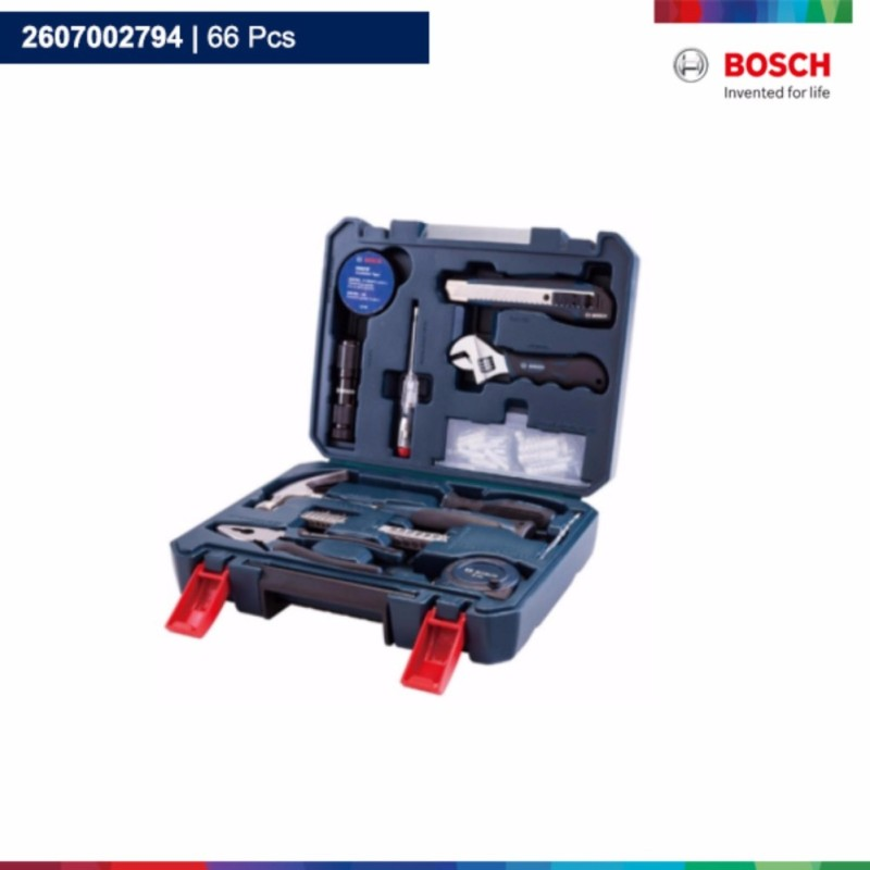 Bộ dụng cụ gia đình đa chức năng Bosch 66 chi tiết