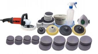 Bộ dụng cụ phục hồi kính trầy xước ố mốc xỉ hàn trên kính xây dựng