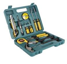 Bộ dụng cụ sửa chữa đa năng gia đình 12 món (Xanh)