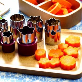 Bộ dụng cụ tạo hình làm bánh và cắt tỉa trái cây đa năng (8 món)