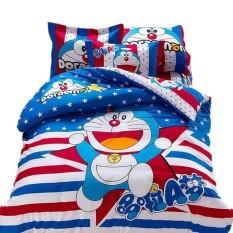 Bộ ga giường doraemon sao xanh