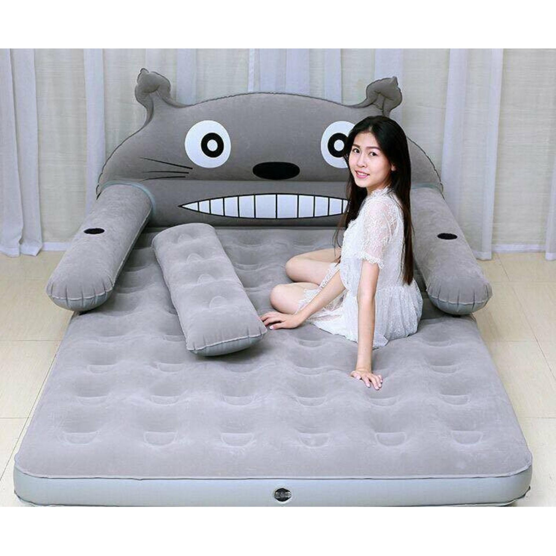 Kết quả hình ảnh cho giường hơi intex hình thú