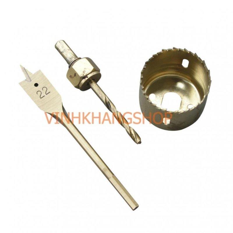 Bộ khoét lỗ tròn 22mm và 54mm C-mart A0102