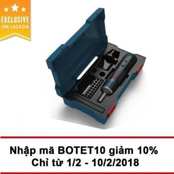 Bộ máy bắt vít dùng pin Bosch go 33 chi tiết