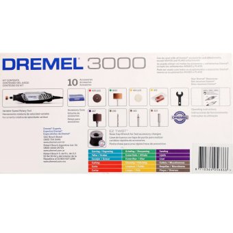 Bộ máy đa năng Dremel 3000 và 10 phụ kiện Dremel 3000-N/10