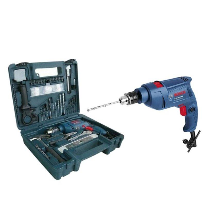 Bộ máy khoan Bosch GSB1300RE (Xanh dương)