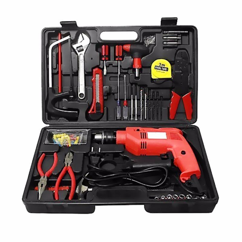 Bộ máy khoan cầm tay DIY 104 món sửa chữa tại nhà