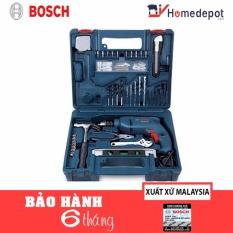 Bộ máy khoan và 100 chi tiết Bosch GSB 10RE (Xanh)