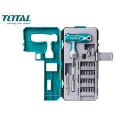 Bộ mũi vít 25 chi tiết Total TACSD30256