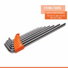 Bộ vặn lục giác cán dài đầu tròn Fujiya FHW-700S
