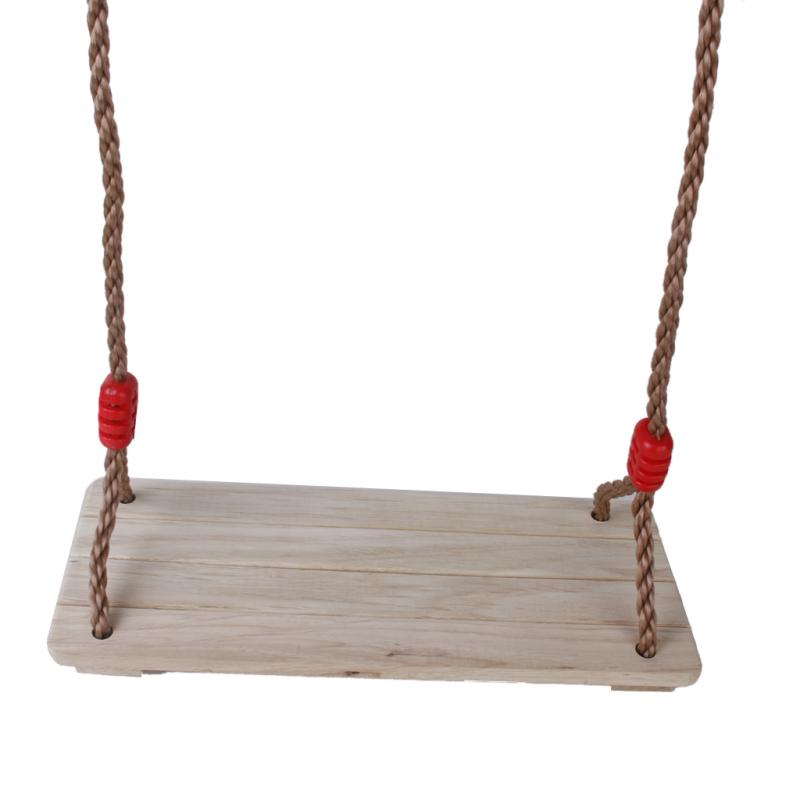 Boleh Deals Cửa hàng Swaret Birch Wood Ghế ngồi với Rope - Sân bay Quốc tế