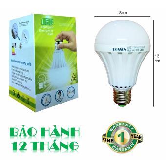 Bóng đèn LED 9W tích điện thông minh tự sáng khi mất điện POSSON LIB-9