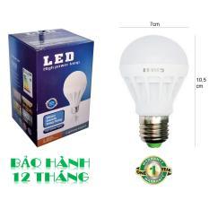 Bóng đèn LED 9W tiết kiệm điện sáng trắng POSSON LB-E9