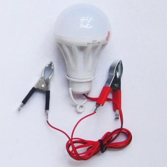 Bóng đèn led kẹp bình ắc quy 12v-7w