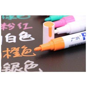 Bút màu Gana dùng vẽ graffiti DIY, vẽ lốp (màu cam)