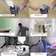 Cách xử lý tường nhà bị thấm nước , Cây lăn sơn - Cây lăn sơn thông minh E9 - Dòng sản phẩm CAO CẤP  Mẫu 134 - Bh uy tín 1 đổi 1 bởi TECH-ONE