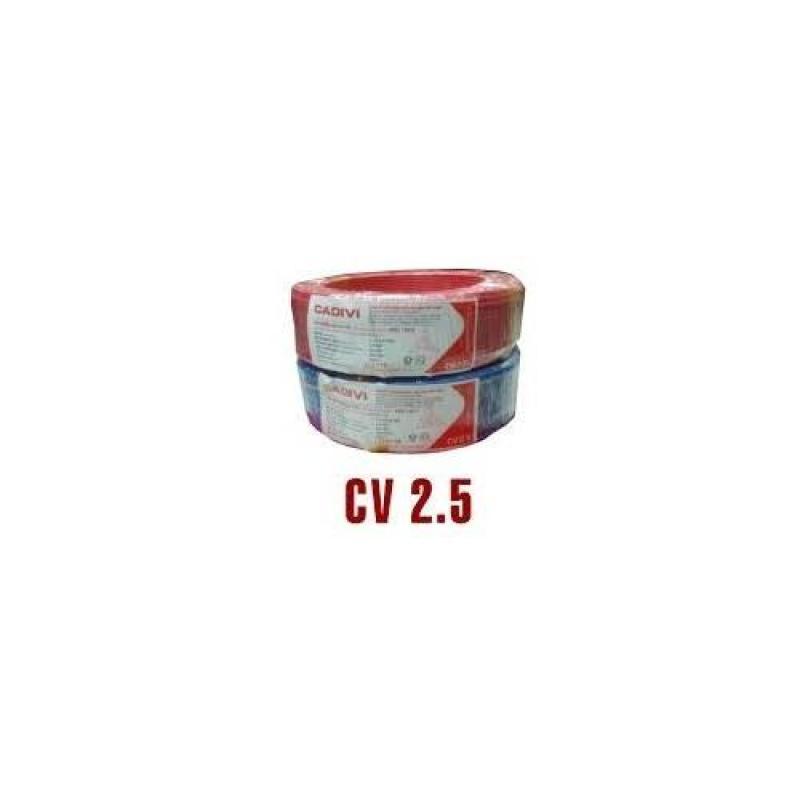 Bảng giá Mua CADIVI CV 2.5