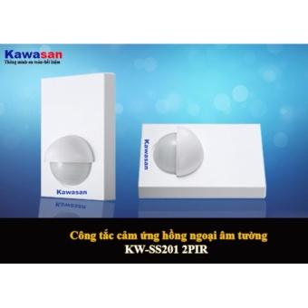 CẢM ỨNG HỒNG NGOẠI ÂM TƯỜNG KW-SS202-2PIR