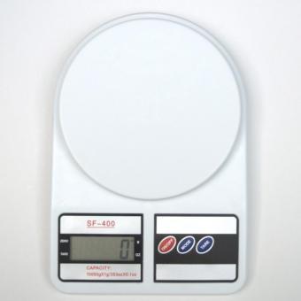 Cân điện tử nhà bếp 10kg+2 PIN(tặng móc khóa da)